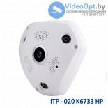 Панорамная IP камера с обзором 360 градусов ITP-020K6733HP (3Mp; слот SD карты)