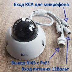 Камера видеонаблюдения ITP-020SL200(2MP)